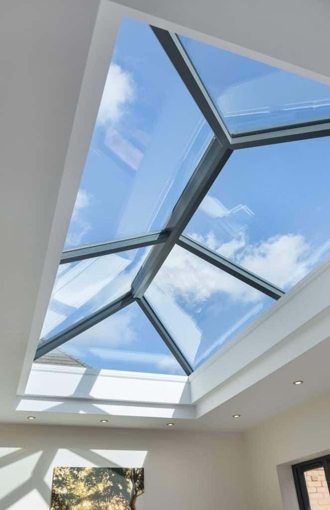 Ultraframe flat lantern skylight