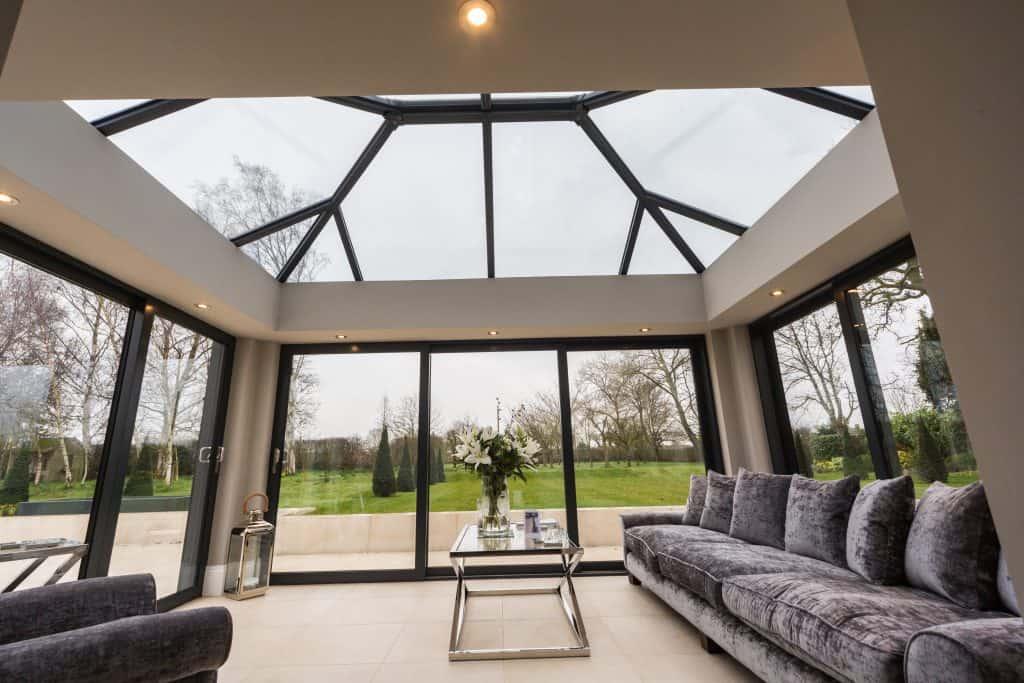 Ultraframe roof skylight
